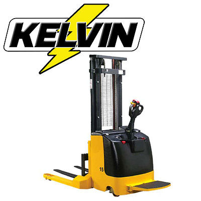 Kelvin KEK20 Electric Straddle Stacker