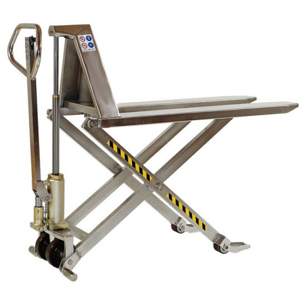 HMXSS Stainless-Semi Manual High Lift Pallet Truck
