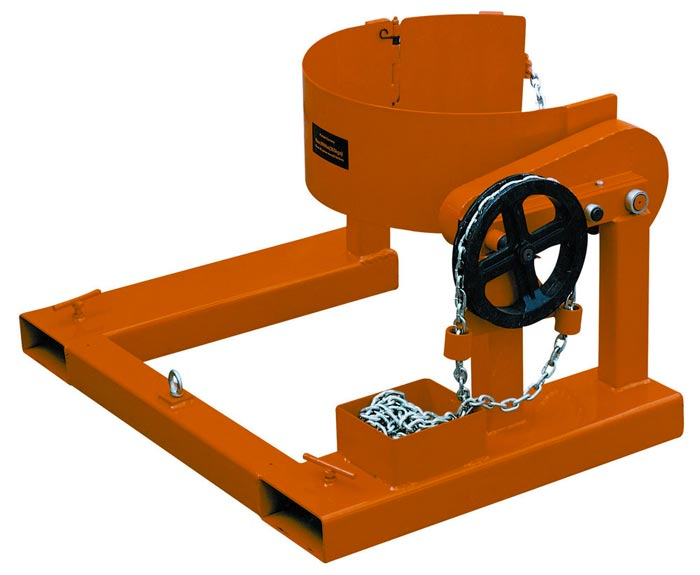 Forklift Drum Grab Attachment