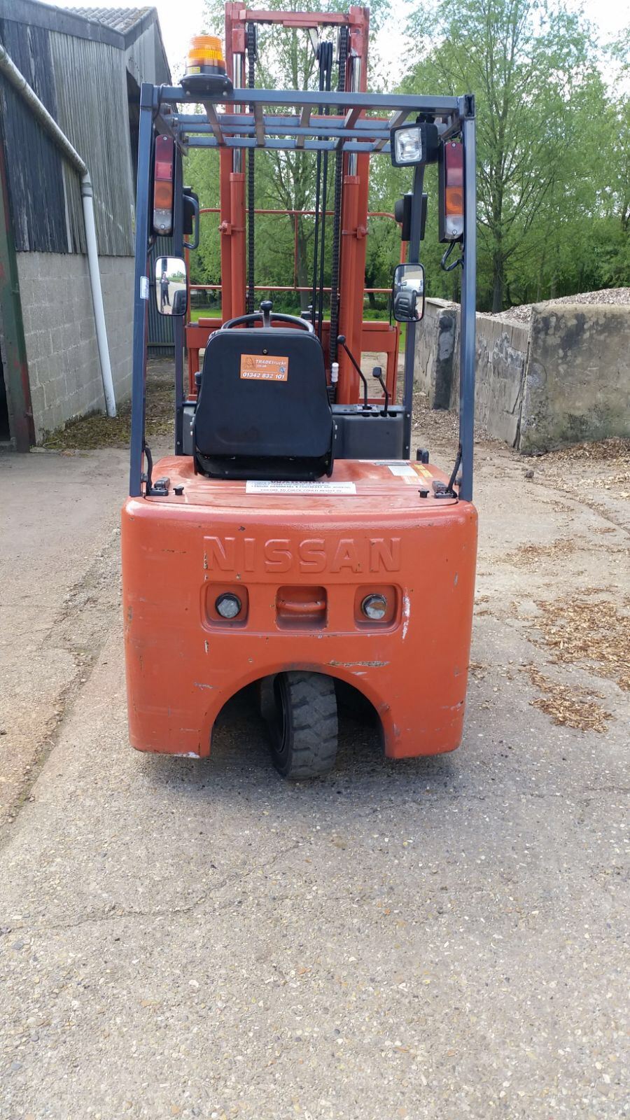 Nissan 1.5 Ton Electric Forklift