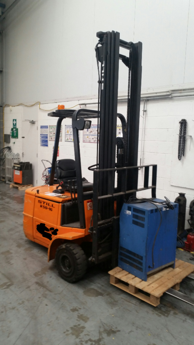Still R50 16 Forklift - Electric Three Wheeler